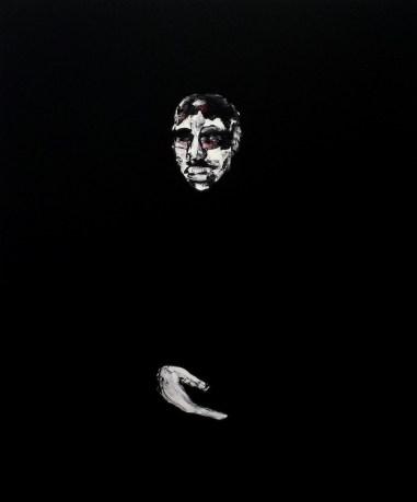 Lorenzo Puglisi, Ritratto 140515, 2015, olio su tela, 120x100 cm