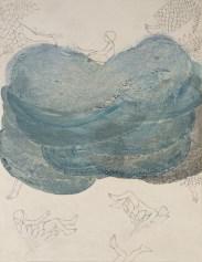 Elisa Bertaglia, Brutal Imagination, 2016, olio, carboncino, grafite e pastelli su carta, cm. 27,9x21,5