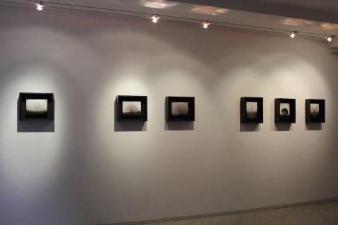 Ettore Frani, Requiem_veduta della mostra presso L'Ariete arte contemporanea, courtesy Paola Feraiorni