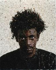 Vik Muniz, Jorge (dalla serie Pictures of Magazine), 2003, C-print, 127x101.6 cm, Collezione Annette e Peter Nobel