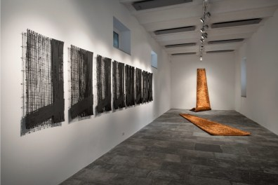Antonella Zazzera, veduta della mostra Fondazione Arnaldo Pomodoro, Milano Foto Carlos Tettamanzi