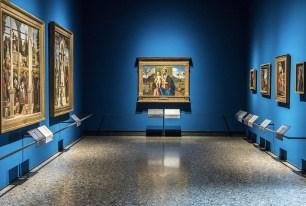 Il nuovo allestimento della Pinacoteca di Brera: Pittura Veneta XV secolo, Sala 7 © James O'Mara
