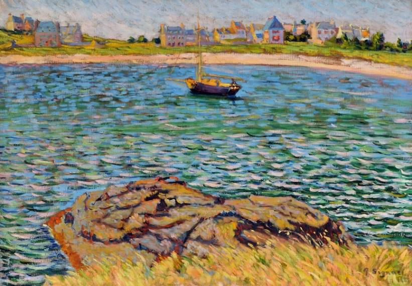 Paul Signac, Saint-Briac. Le Béchet, 1885, olio su tela, 46x65 cm, Collezione privata Fotografia: Maurice Aeschimann