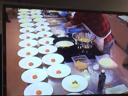 Show cooking dello Chef Pino Cuttaia, 6 settembre 2016, Eataly, Milano