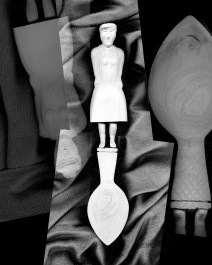 """Mario Cresci, """"Dalla serie Coesistenze"""", Bergamo 2016 stampa inkjet, cm 50x40"""