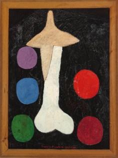 Francis Picabia, Égoisme, 1947/48- um 1950, Öl auf Holz im originalen Holzrahmen, 186x126.1x7 cm, mit Rahmen Museum Boijmans Van Beuningen, Rotterdam © 2016 ProLitteris, Zürich