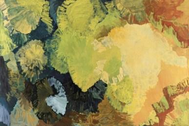 Per Kirkeby, Senza titolo, 1999, olio su tela, 200x300 cm Courtesy Galerie Knoell, Basilea