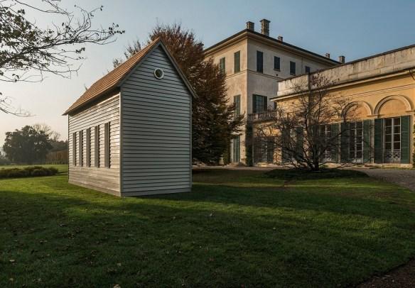 Robert Wilson, A House for Giuseppe Panza, 2016, Colonna sonora / Michael Galasso, Testo / Rainer Maria Rilke, Voce / Robert Wilson.