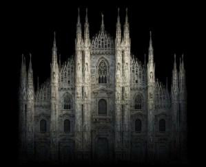 Irene Kung, Duomo di Milano, 2012, D-print su carta cotone, cm 100x123. Courtesy Galleria Contrasto