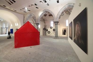 Have a Nice Time. Da Kounellis a Shiota, veduta della mostra, Palazzo San Francesco, Domodossola