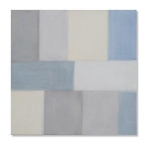 Nataly Maier, Sconfinitudini, 2016, tempera all'uovo, 110x110 cm Courtesy Artesilva, Seregno