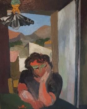 Renato Guttuso, La madre, 1937, olio su tela, 60x48 cm