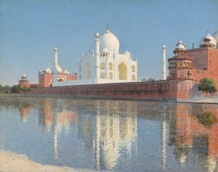 Vasilij Vereščagin, Taj Mahal Mausoleum, Agra 1876, olio su tela, Tretyakov Gallery, Moscow © Tretyakov Gallery, Moscow