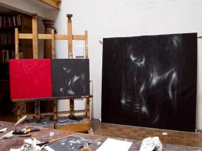Studio di Omar Galliani