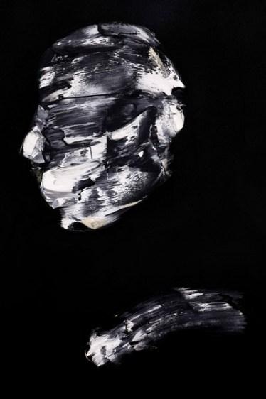 Lorenzo Puglisi, Il Grande sacrificio, 2018, olio su tavola, 175x395 cm, particolare #1