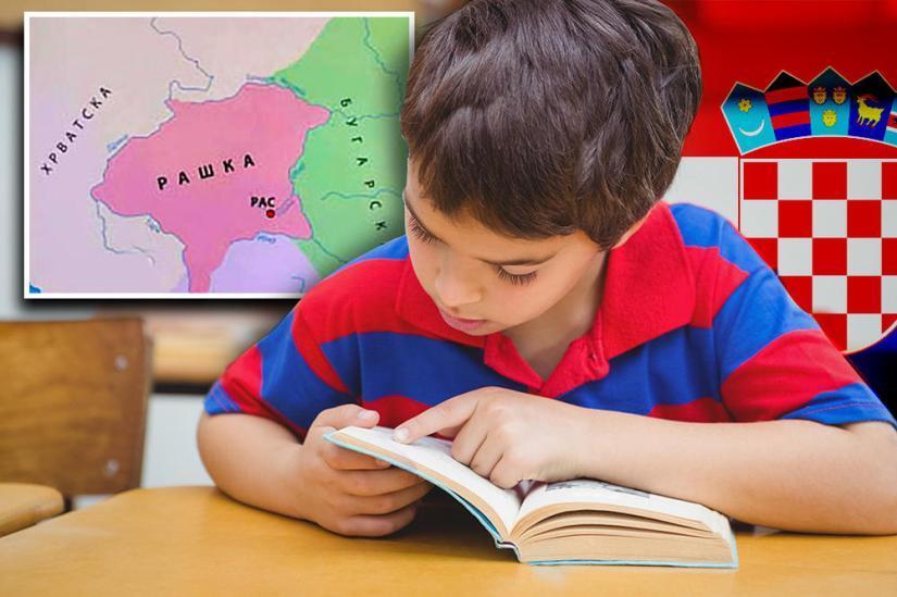 SRPSKA DECA UČE DA JE BEOGRAD BIO DEO VELIKE HRVATSKE! Skandalozne laži u udžbeniku za 4. razred!