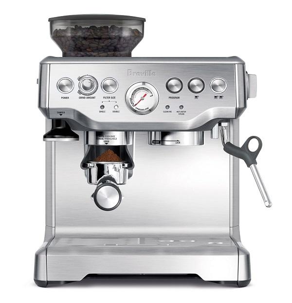 Best espresso machine-Breville BES870XL Barista Express Espresso Machine Review