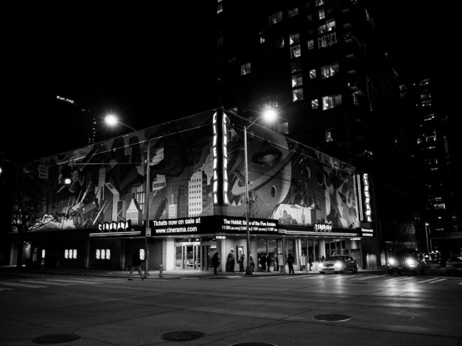 Cinerama downtown Seattle