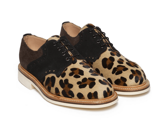 Mark McNairy Bodega Collaboration Derby Brogue suede leopard pony hair las vegas buy sell purchase cost releas launch sizes colors where to buy