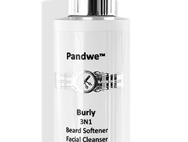 Burly Beard Softener Precision Barber Club Shave Face Wash All Natural