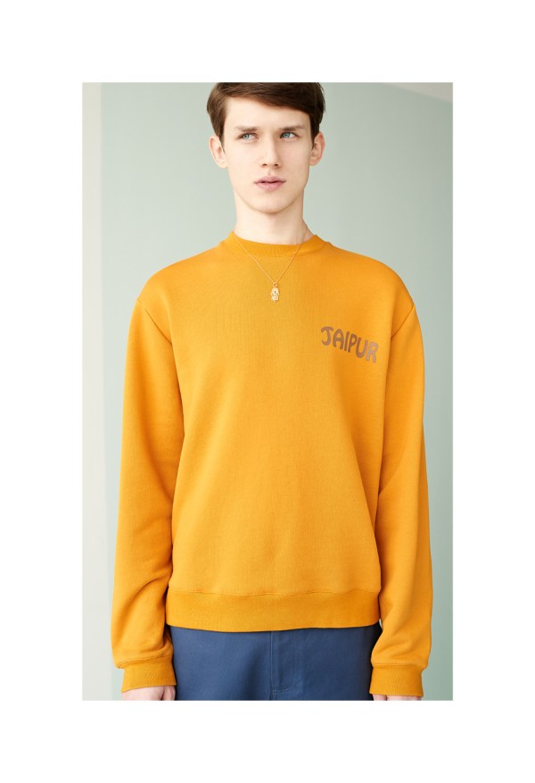 Trademark 39 s spring summer 2015 lookbookessential homme for Mens shirts with snaps instead of buttons