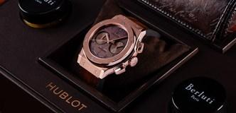 Hublot Unveils Classic Fusion Chronograph Alongside Berluti
