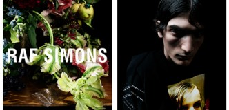 Raf Simons Releases Brooding Floral Campaign for FW18