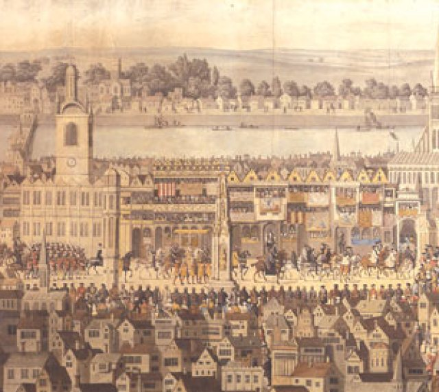 Coronation Procession Edward VI