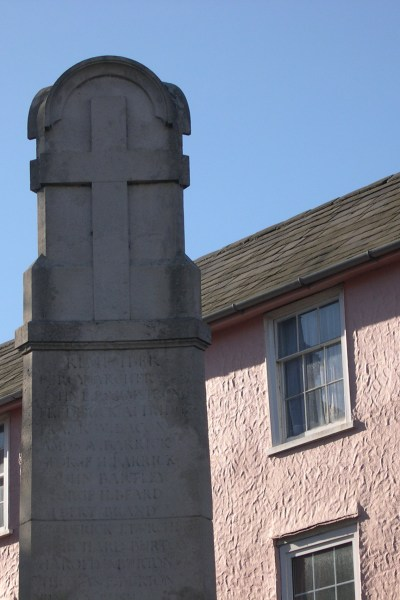 Great Dunmow War Memorial - Frank Bacon
