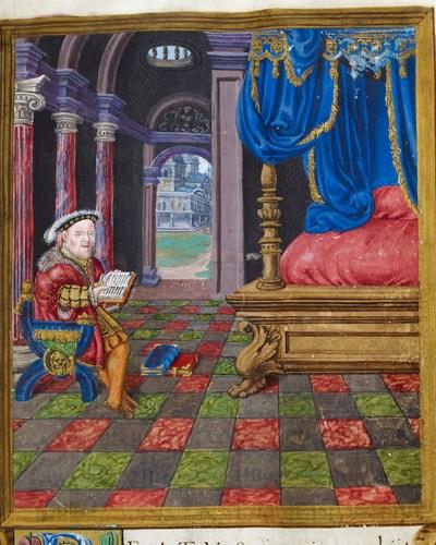 Royal 2 A XVI f.3 Henry VIII