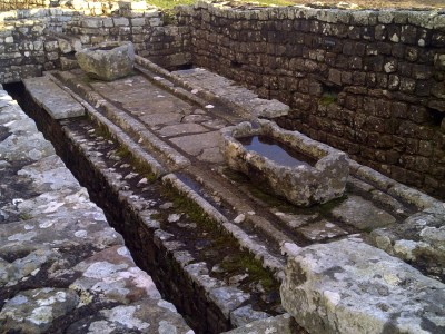 Housesteads Roman Fort - Latrines