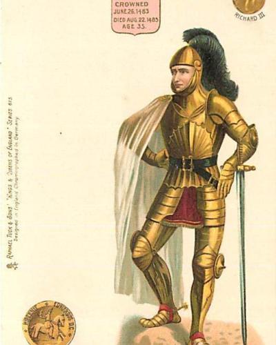 Tuck's Kings and Queen of England - Richard III