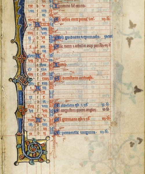Macclesfield Psalter - May