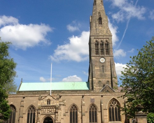 Leicester Cathedral, May 2013