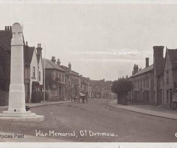 Great Dunmow War Memorial