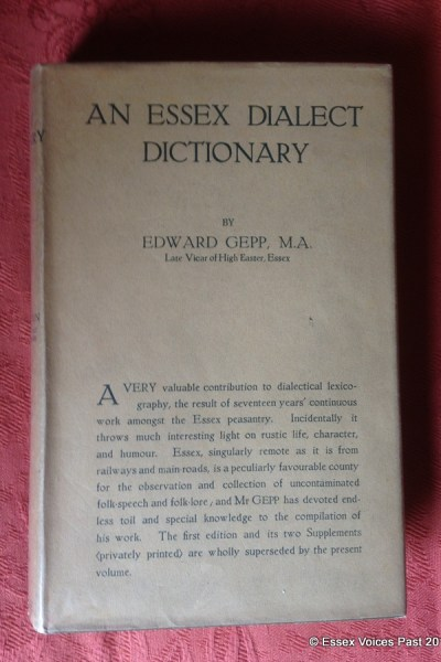An Essex Dialect Dictionary by Edward Gepp