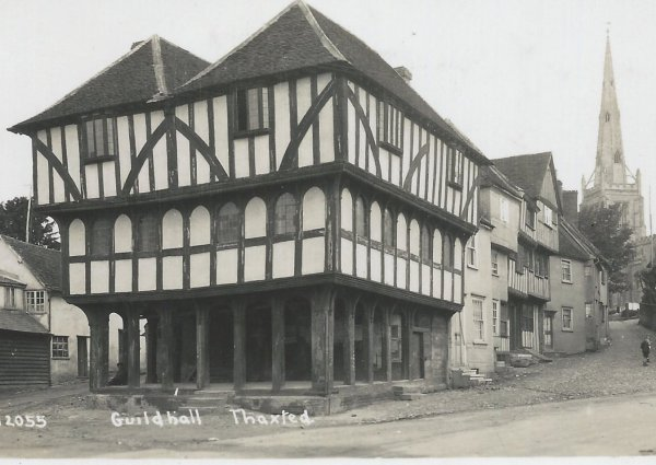 Thaxted Guildhall and Stony Lane