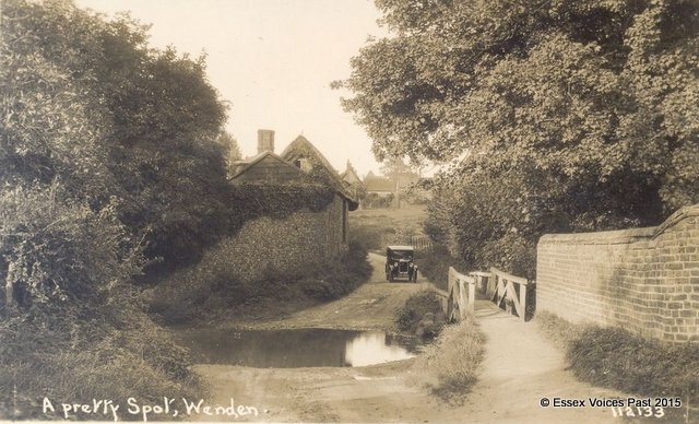 A pretty spot in the 1920s - Wendens Ambo