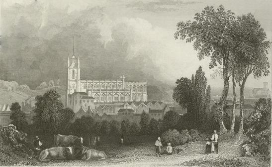 St Mary's, Saffron Walden 1835
