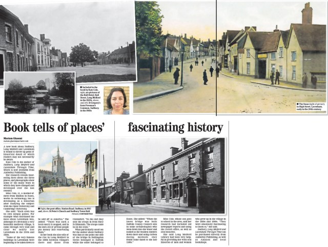 East Anglian Daily Times 21 August 2015