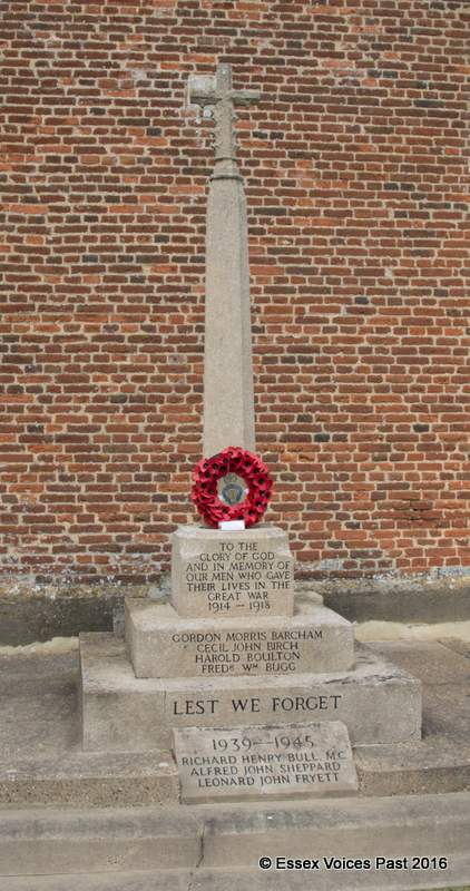 Levington village's War Memorial