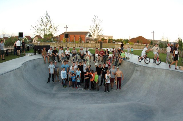 Groupe participants Concert skate concerto Bowl Attack 2014