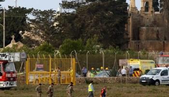 Queda de avião em aeroporto de Malta deixa tripulantes mortos