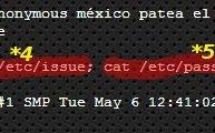 Comandos cuando fue hackeada la página de inciio de la SEDENA
