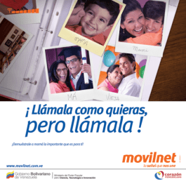 Movilnet dia de la Madre