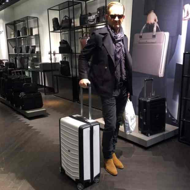Porsche Design Luggage | Bryan Peele Estate Of Affair Blog
