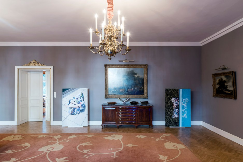 EXHIBITION THERAPY BLAUW/ EMBASSY OF THE NETHERLANDS VIENNA 2017