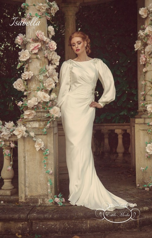 Medium Of Art Deco Wedding Dress