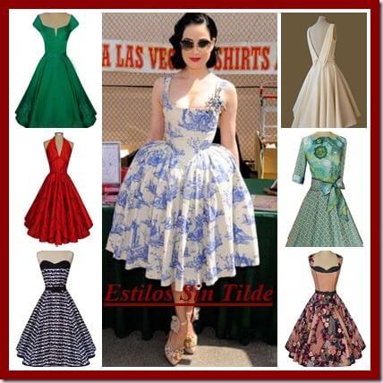 Vestidos años 50, apuesta por ellos