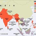 La descolonización de pueblos asiáticos y africanos